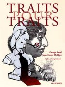 "Couverture du livre ""Traits pour traits"" - George Sand, Dessins (...)"